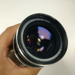 Rare Carl Zeiss Biometar 120mm F2.  8 For Praktina With Canon Ef Mount Adapter