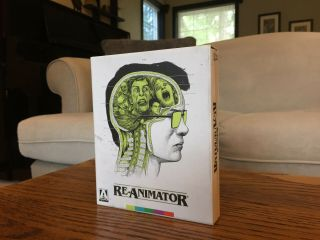 "Rare Like "" Re - Animator "" (1985) Limited Edition Arrow Video Horror Blu - Ray"