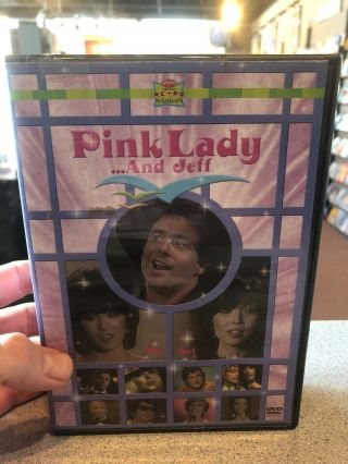 Pink Lady.  And Jeff Dvd Rare Out Of Print 1980 Blondie Alice Cooper