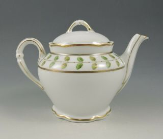 Bernardaud Limoges Constance Rare 2 Cup Teapot Empire Decor With Tags