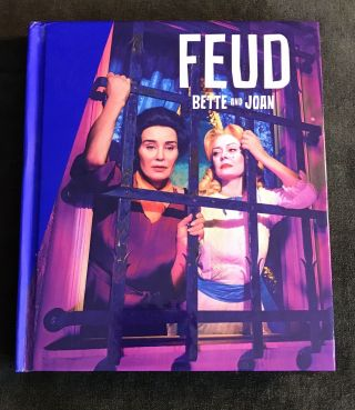 Very Rare - Feud Bette & Joan 3 Dvd Fyc Promo Only Digibook Of Complete Season