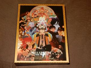 """ Blue Exorcist: The Movie "" Limited Edition Box Set Very Rare Oop 2 - Disc Blu - Ray"