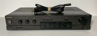 Vintage Technics Su - 700 Stereo Integrated Amplifier (1986 - 88) - Rare & Htf
