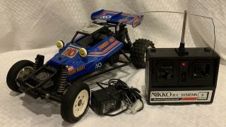 Rare Nikko Thunderbolt F - 10 Off - Road Frame Buggy Rc Car Radio Controlled 1/10
