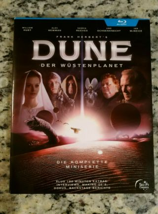 Dune The Complete Mini - Series [blu - Ray] (2000) Region,  Rare German Release