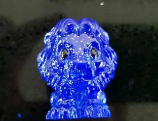 Ultra Rare Blue Glitter Spirit Mufasa Lion King Woolworths Ooshie Collectibles