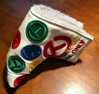 Rare Scotty Cameron Tour Only Dancing Circle T Putter Cover - Mid Mallet