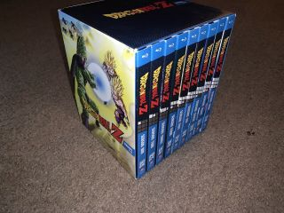 Dragon Ball Z Blu - Ray Complete - Exclusive Rare Oop