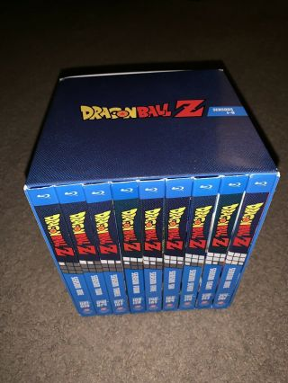 Dragon Ball Z Blu - ray COMPLETE - Exclusive RARE OOP 2