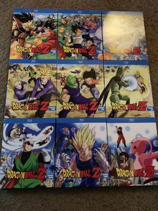 Dragon Ball Z Blu - ray COMPLETE - Exclusive RARE OOP 4