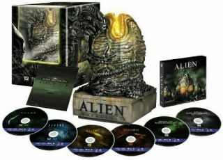 Alien Anthology Bluray Sideshow Limited Edition Egg Box Set 2010 Rare