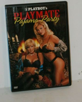 Playboy Playmate Pajama Party Dvd Rare Oop