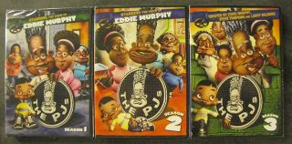 The Pjs: Season 2 & 3 (dvd,  2011,  4 - Disc Set) Rare Opp Classic Eddie Murphy Us