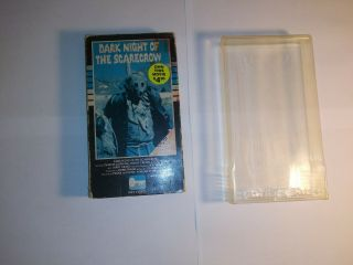 Dark Night Of The Scarecrow Vhs Ultra Rare Horror Tv Movie Key Video