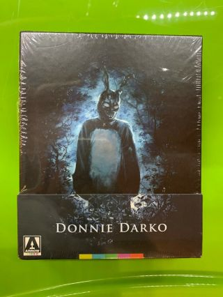 Donnie Darko 4 Disc Blu - Ray Dvd Limited Edition Arrow Video Oop Rare