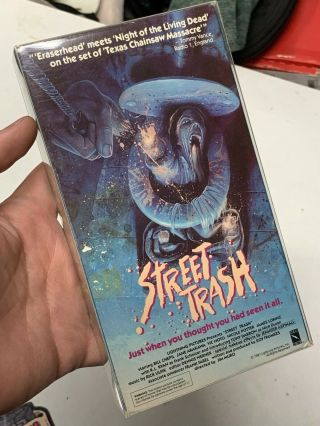 Rare Horror Vhs Stree Trash Lighting Video