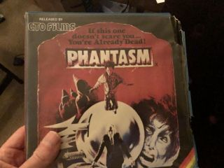 Phantasm (1979) Ultra Rare 8mm Color/sound Horror Digest Derann