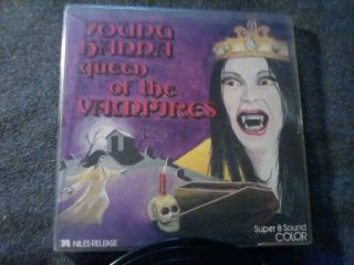 8 Color Sound Rare Young Hanna Queen Of The Vampires 400 Foot Color