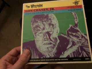 The Wolfman (1941) Rare Universal 8 Long 400 Ft Version Vintage Magnetic Sound