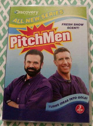Pitchmen (3 Dvd Set 2009) Oop Very Rare Complete Series - Billy Mays - Discovery
