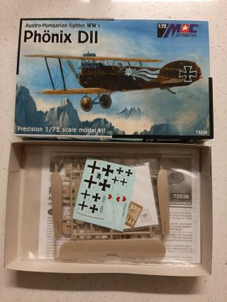 1/72 Mac Distribution Phonix D.  Ii Austro - Hungarian Wwi Fighter,  Rare,  Oop