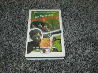 Rare Horror Vhs La Secte Des Cannibales From Umberto Lenzi Made In France