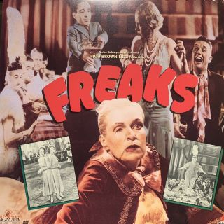 Extremely Rare 35mm Film Trailer From 1932 Of Freaks By Tod Browning