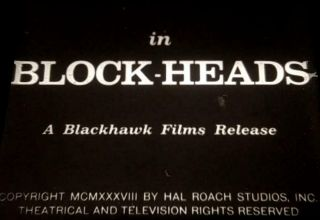 16mm Feature: Block - Heads - 1938 Laurel & Hardy Comedy Genius Classic - Rare