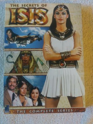 The Secrets Of Isis - The Complete Series 2007 Dvd Rare W/special Features