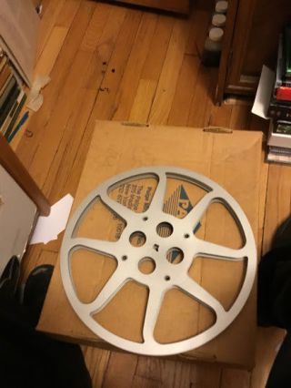 16mm Serial Chapter Mysterious Island 12 Rare B/w No Vs