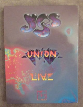Rare Yes Union Live Limted Edition 4 Disc Set
