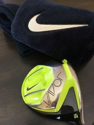 9/10 Rare Nike Vapor Speed Tw Tiger Woods Limited Edition Driver Head