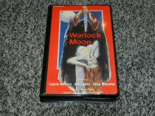 Rare Horror Vhs Warlock Moon Laurie Walters Joe Spano Unicorn Video Inc.