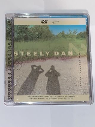 Steely Dan Two Against Nature Rare Out Of Print 5.  1 Surround Sound Dvd - Audio