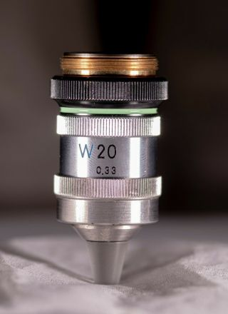 Nikon W20 Water Immersion Objective - Extremely Rare