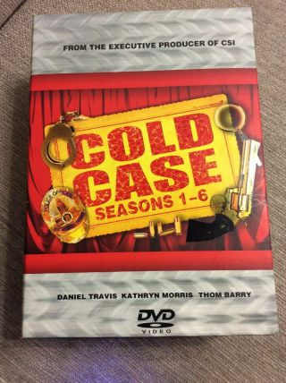 Cold Case Seasons 1 2 3 4 5 Complete Series Very Rare 29 Disc Set 1 - 5