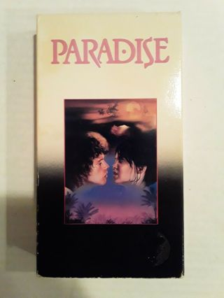 Paradise Vhs Very Rare Cult Thriller Horror Oop Sleaze Embassy Video