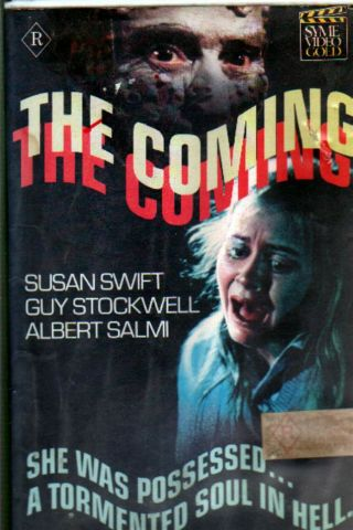 The Coming Vhs 1981 Bert I Gordon Tisha Sterling Rare