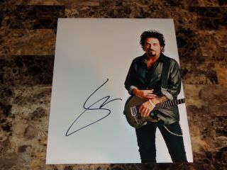 Steve Lukather Rare Authentic Hand Signed Photo Poster Toto Ringo Starr Band