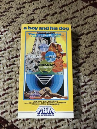 A Boy And His Dog Vhs Rare Media Home Entertainment W/bottom Flap Cult