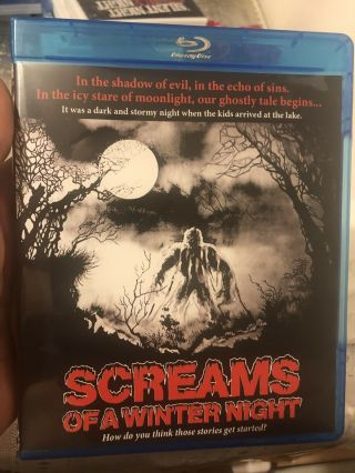 Screams Of A Winter Night Blu - Ray Rare Oop Horror Anthology 1979 Uncut Code Red