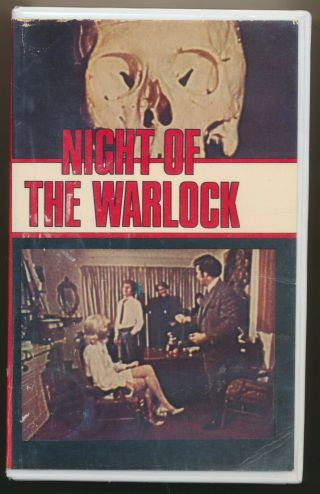 Night Of The Warlock Aka Satans Lust Satanic Sex Shocker Aussie Pal Vhs Rare