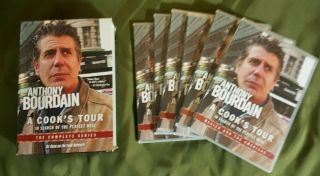 Anthony Bourdain - A Cooks Tour Complete Series Dvd,  2012,  6 - Disc Set Rare Oop