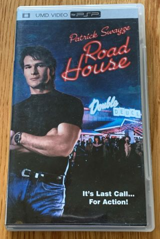 Playstation Portable Road House Umd Movie Very Rare Only One On Ebay Psp