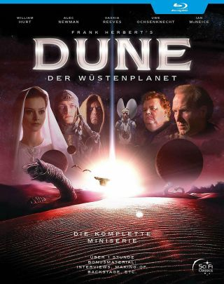 Dune The Complete Mini - Series [blu - Ray] (2000) Frank Herbert Rare German Release