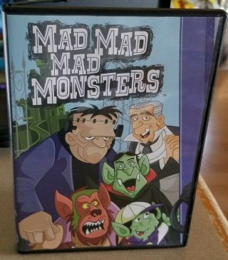Mad,  Mad,  Mad Monsters Dvd 2011 Rankin - Bass Classic Media Oop Rare