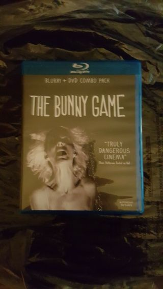 The Bunny Game Blu - Ray/dvd Autonomy Pictures Oop Very Rare Mature Torture P Rn