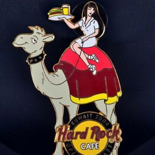 Kuwait Staff Hard Rock Cafe Opening Pin,  A Rare Opportunity