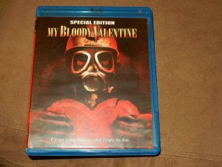 """"""" My Bloody Valentine """" Special Edition Blu - Ray/dvd 2 - Disc Rare Oop Horror"""