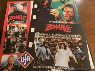 8mm - Dawn Of The Dead - Reel 1 - Rare - Ufa German
